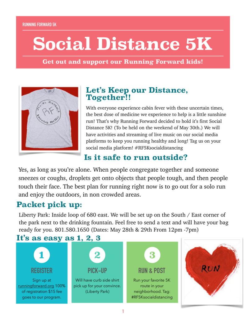 Social Distance 5k run